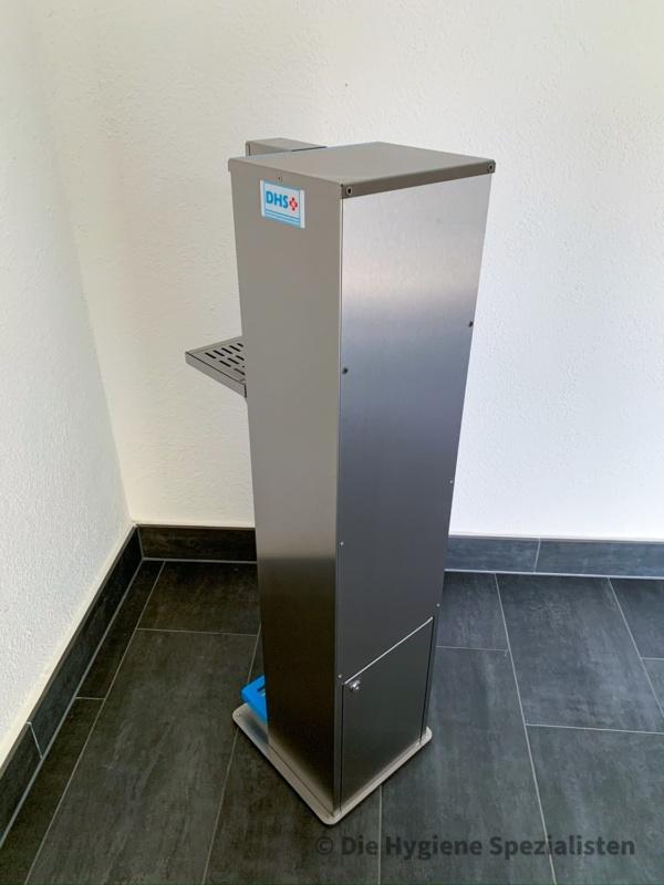 Desinfektionsmittelspender 5 Liter Edelstahl Fußbetätigt